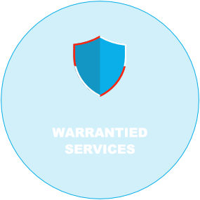 warrantied services